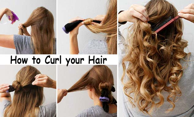 how to curl your hair
