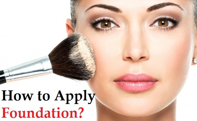 How to apply foundation
