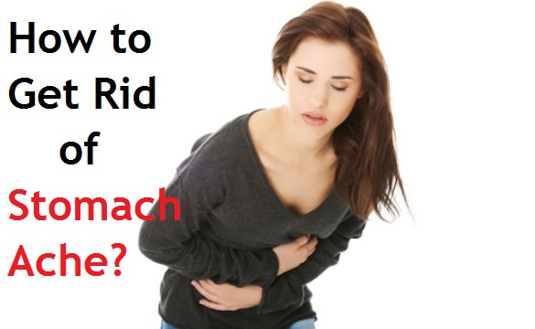 how to get rid of a stomach ache