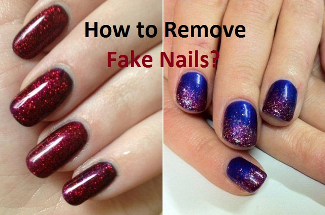 how to remove cut nails