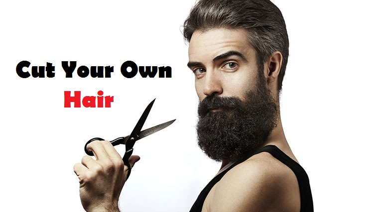 How To Cut Your Own Hair Men - How to cut men's hair by myself