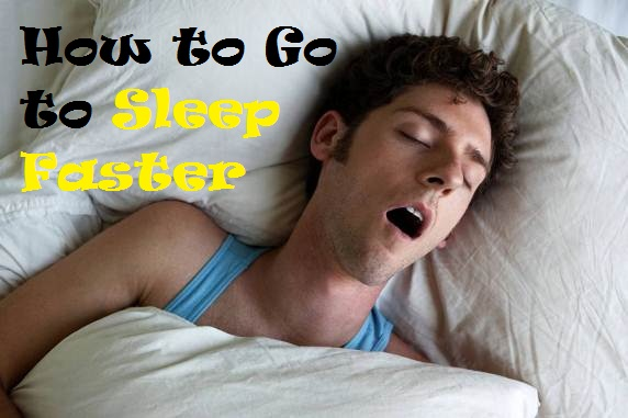how to go to sleep faster